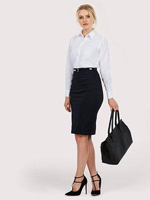 Ladies Pinpoint Shirt